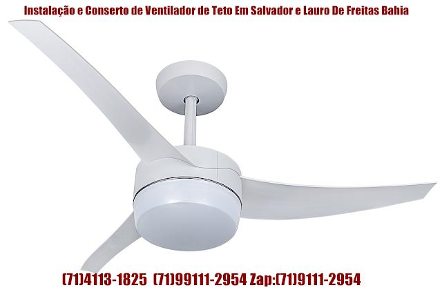 Ventilador de Teto Girando Muito Devagar Com Pouca Ventilação(Resolvido)