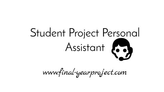 Student Project Personal Assistant