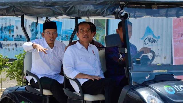 TGB Masuk Golkar karena Faktor Jokowi