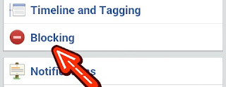 facebook setting blocking