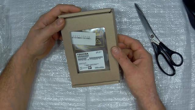 распаковка жёсткого диска