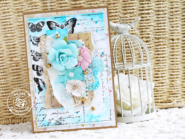 It's All About Watercolor - Prima Card