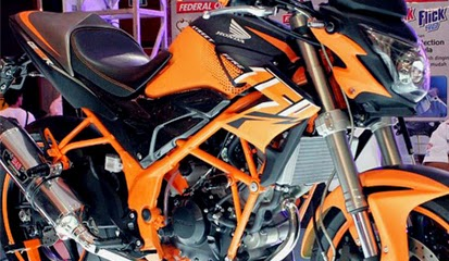 Brosur Daftar Harga Aksesoris Honda CB150r Terbaru 2015