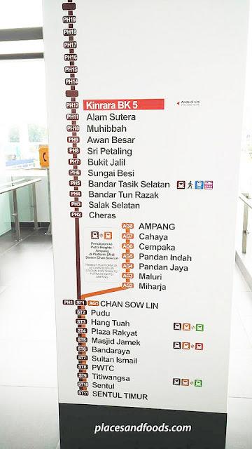 Rajah Laluan Baru Star LRT