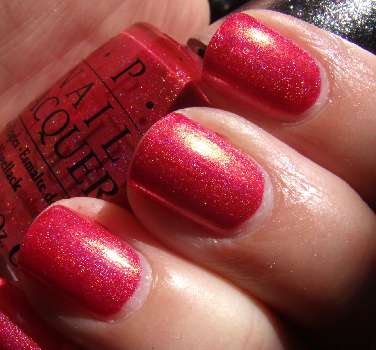 Ruby Nail Polish: Obsessive Cosmetic Hoarders Unite!: OPI Designer Series DS