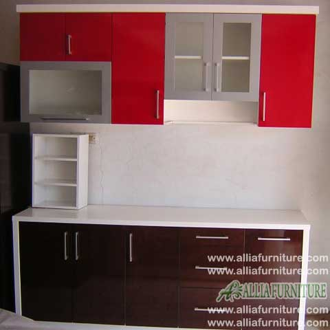 kitchen set minimalis simpel model candy
