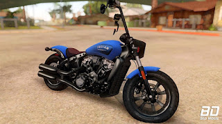 Download mod moto Indian Scout Bobber 2018 para GTA San Andreas