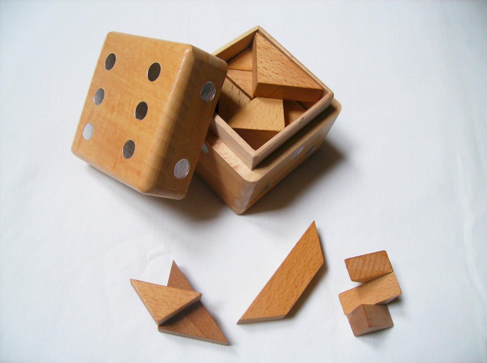 Gabriel Fernandes Puzzle Collection Dice Box Puzzles