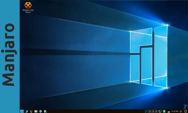 Manjaro Linux LXQT