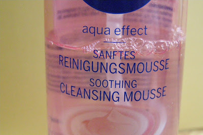 Upokojujúca čistiaca pleťová pena Aqua Effect