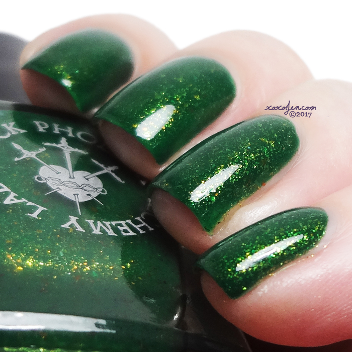 xoxoJen's swatch of Black Phoenix Alchemy Lab Mad Sweeney