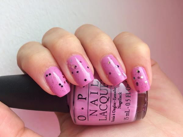 OPI - Lucky Lucky Lavender & glitter