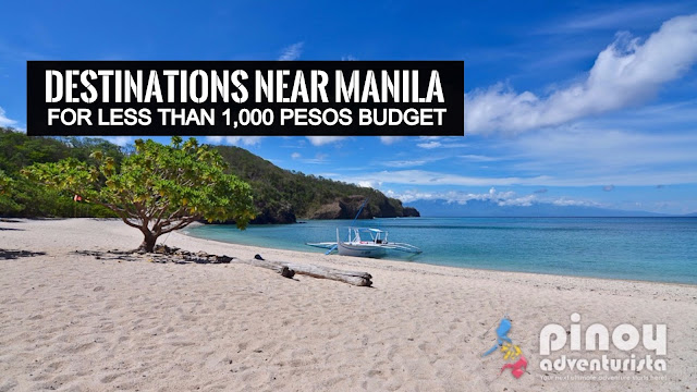 Summer Destinations near Manila for less than 1,000 Pesos