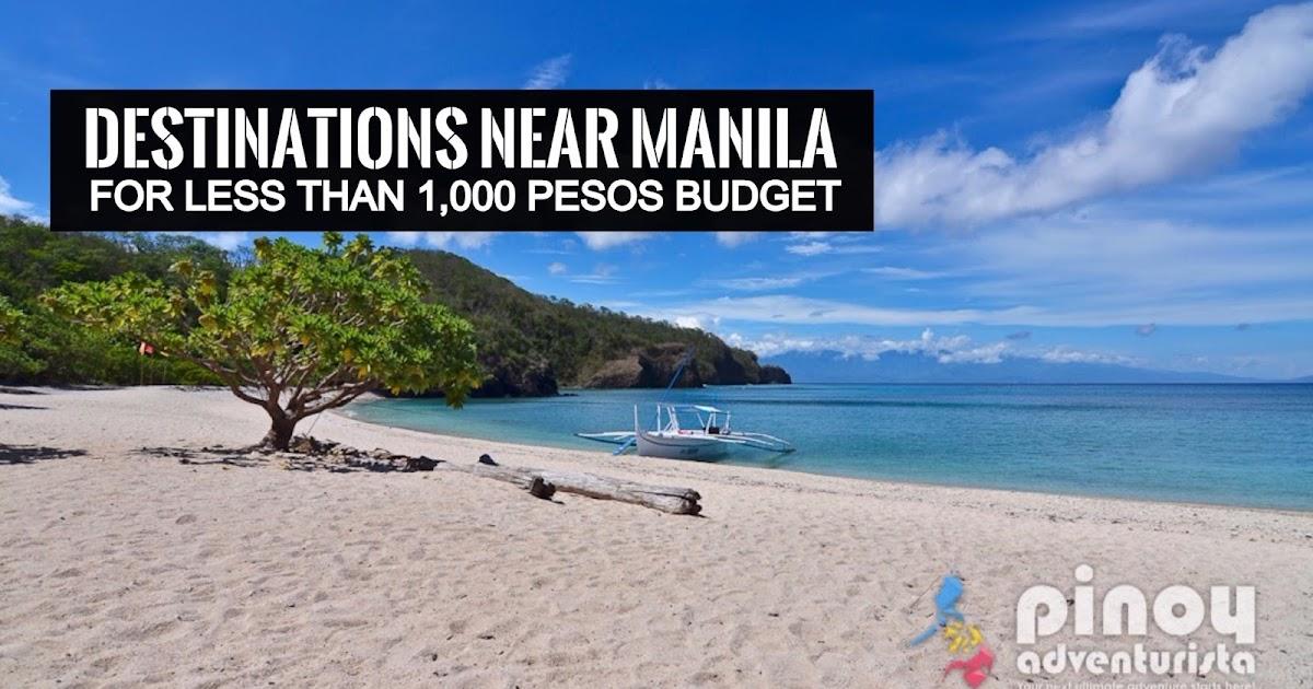 Top Picks Destinations Near Manila For Less Than 1 000