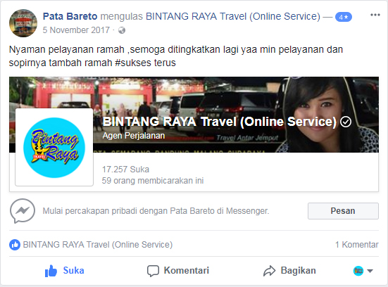 bintangraya travel