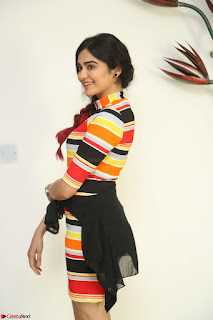 Adha Sharma in a Cute Colorful Jumpsuit Styled By Manasi Aggarwal Promoting movie Commando 2 (172).JPG