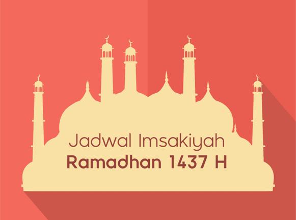 Jadwal Imsakiyah Ramadhan 1437 H 2016 Kemenag RI