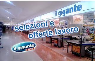 adessolavoro.blogspot.com - Offerte lavoro Il Gigante