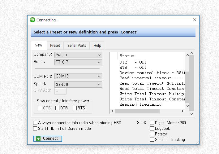 Ham radio deluxe configuration for uBITX