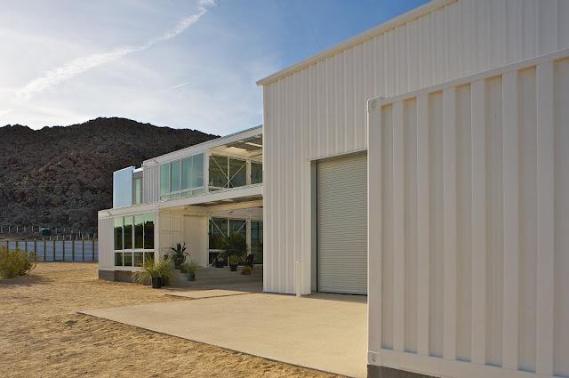 Modular Shipping Container Home in Mojave Desert, California 21