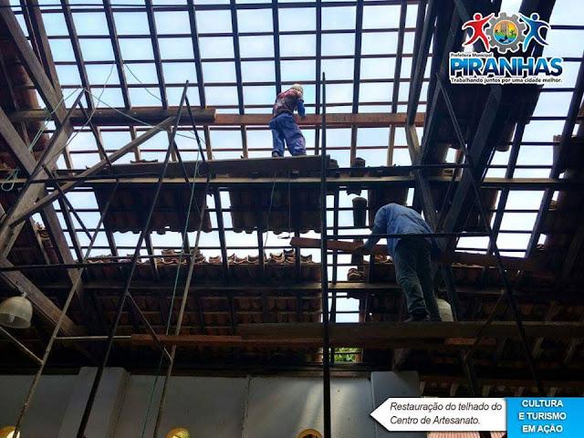 Prefeitura Municipal de Piranhas entrega Centro de Artesanato com Total segurança para turistas e funcionários