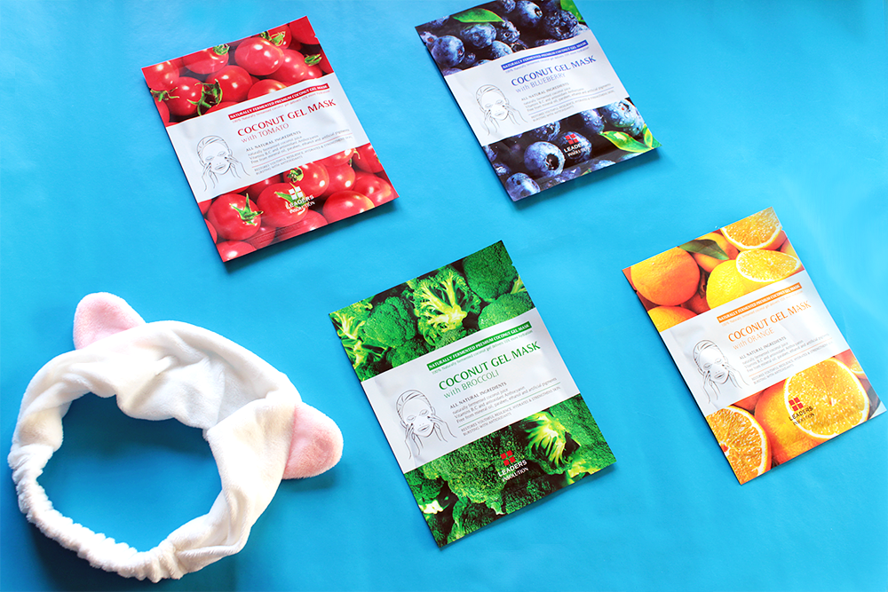Leaders Insolution Superfood Coconut Gel Masks review