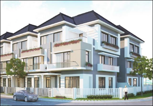 Cho thuê nhà phố Merita Khang Điền Quận 9