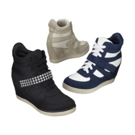 84e2949c4a7bf Wedge Tennis Shoes ~ 3 ways to wear them