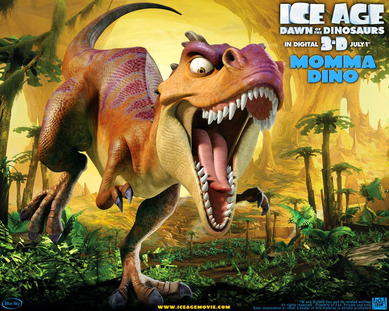 Ice Age Dawn of the Dinosaurs animatefilmreviews.filminspector.com