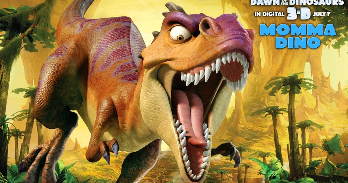 Animated Film Reviews Ice Age Dawn Of The Dinosaurs 2009 Ice Age Gets Hot