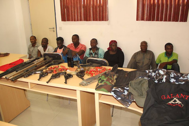 Gang Responsible For The Kidnap Of Ambassador Bagudu Hirse And Other High Profile Personalities.