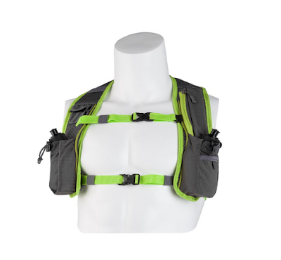 Light Weight Hydration Vest/BackPack with 2 Bottles by SL35 - Product Review