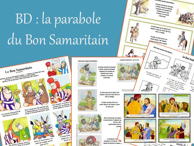 BD sur la parabole du Bon Samaritain