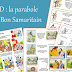 Plusieurs BD sur la parabole du Bon Samaritain