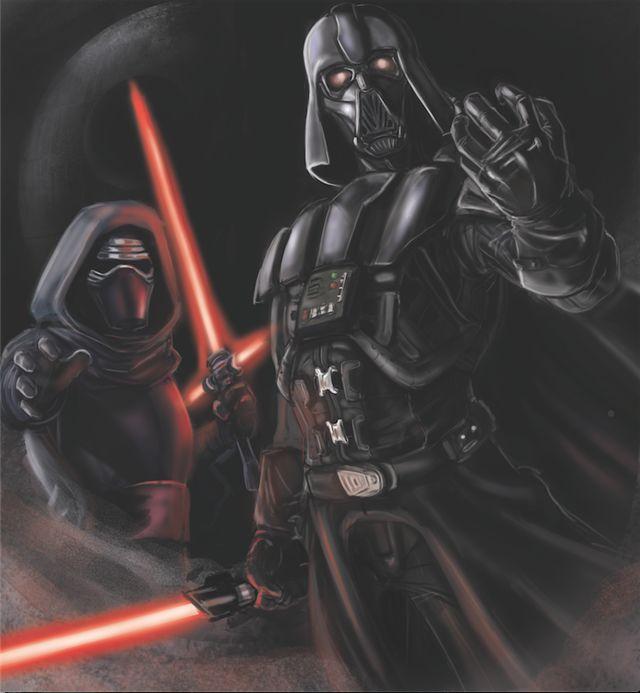 Darth Vader: la nueva mascara de kylo ren en star wars VIII se ...