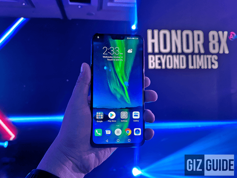 The Honor 8X