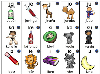 3 silabarios para niños de preescolar para imprimir