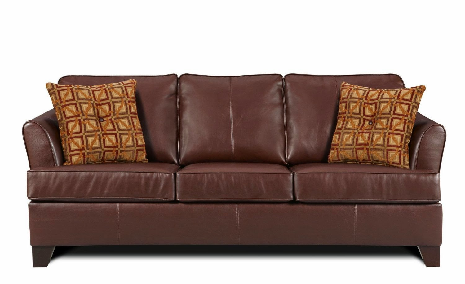 simmons bonded leather sofa designs for bedroom brown couch