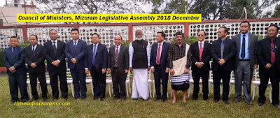 MNF Govt takes oath in Mizoram