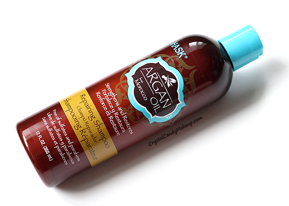 Hask Argan Oil Hair Care Range Repairing Shampoo Review Photos
