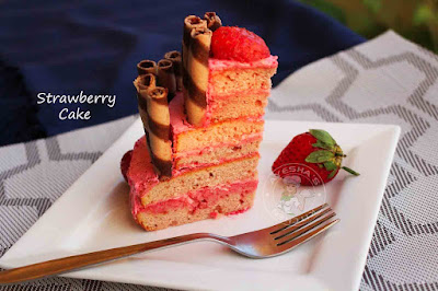 simple cake recipes strawberry cake 3 tier recipe simple frosting desserts