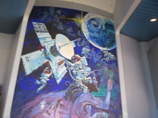 Spaceship Earth Mural Epcot