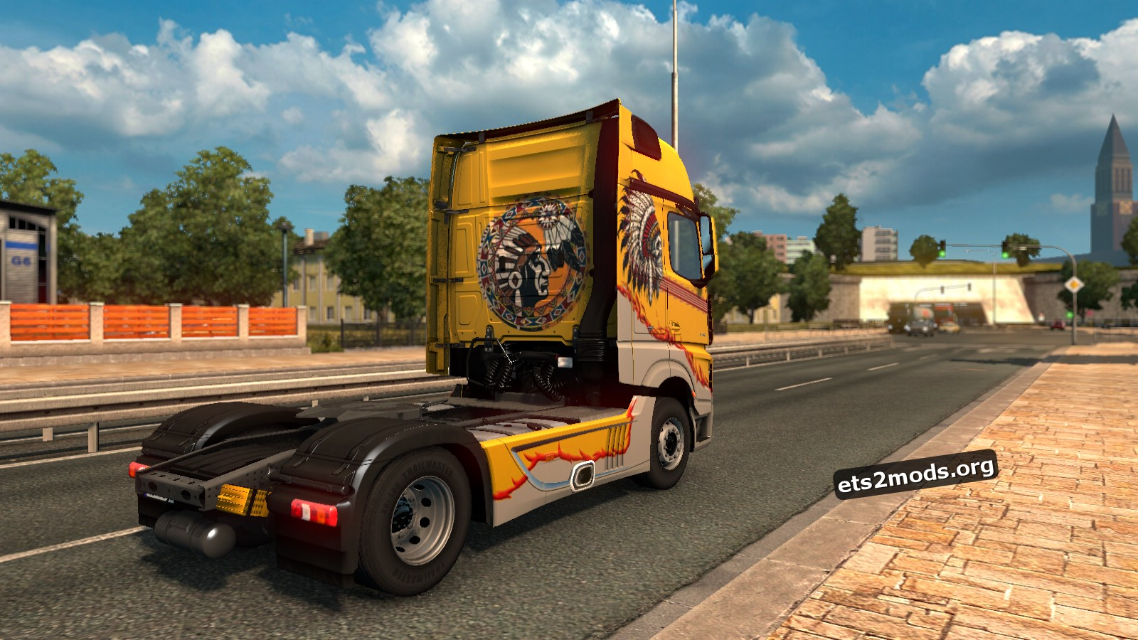 Indian Style Skin - Mersedes Benz MP4