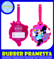 LUGGAGE TAG KARAKTER | LUGGAGE TAG TOKOH KARTUN | LUGGAGE TAG KARET