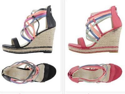 Zapato de cuña ideal para verano