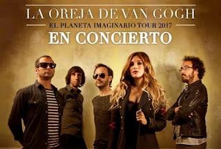 Concierto de LA OREJA DE VAN GOGH en Bogotá 2017