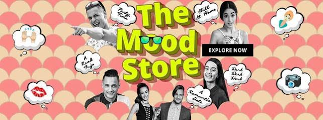 Jabong launches 'The mood store' - shopping innovation rooted in fashion insights.