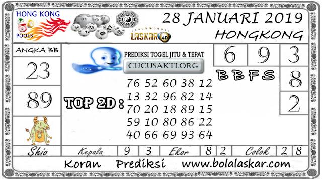 Prediksi Togel HONGKONG LASKAR4D 28 JANUARI 2019
