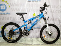Depan Wimcycle X-Scream DX 14 Speed 20 Inci Junior MTB