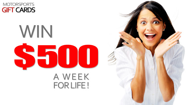 $500 a Week for Life Sweepstakes
